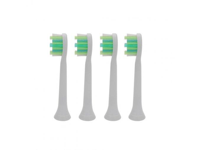 Philips Sonicare Standart Intercare 4 ks - náhradní kompatibilní hlavice na elek. zubní kartáčky Philips - HX9004